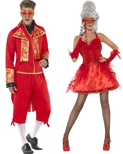deguisement carnaval couple