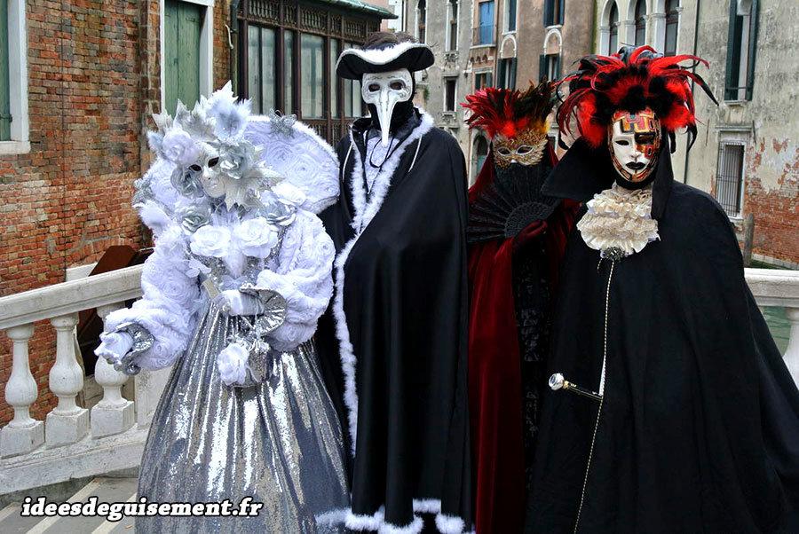 deguisement carnaval de venise pas cher