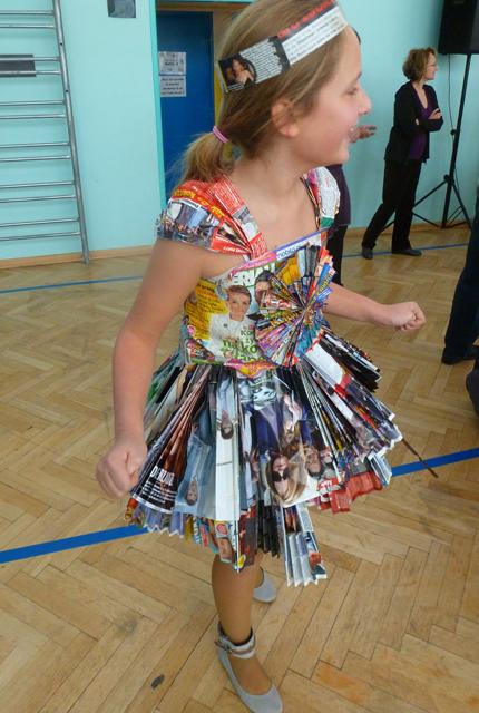 deguisement carnaval recyclage