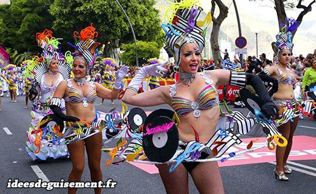 deguisement carnaval rio fabriquer
