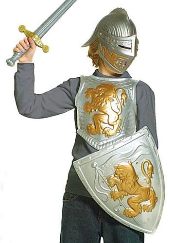 deguisement chevalier armure
