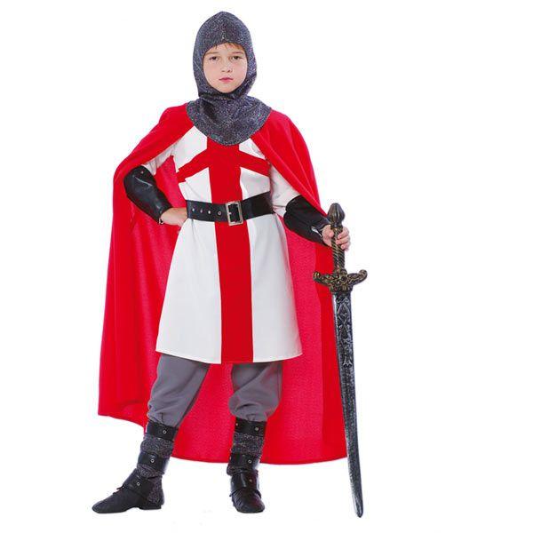 deguisement chevalier croise garcon
