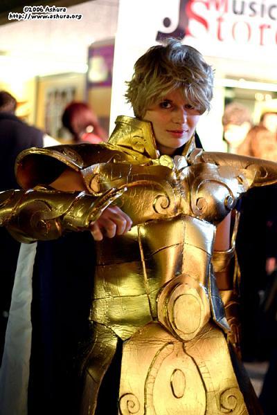 deguisement chevalier d'or