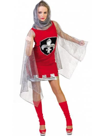 deguisement chevalier medieval femme