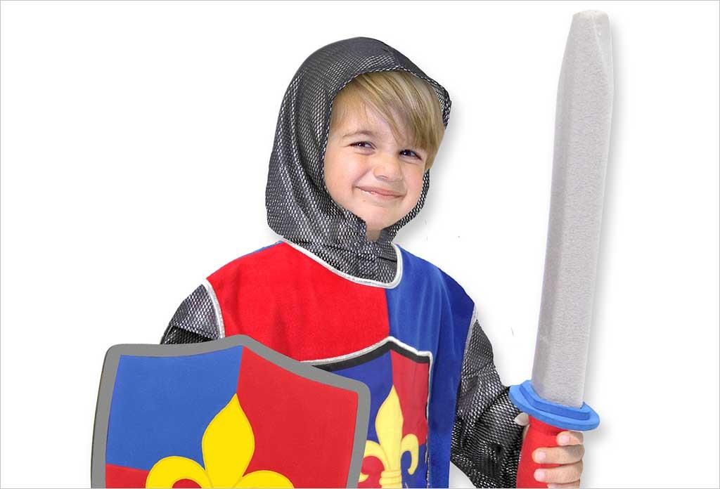 deguisement chevalier melissa et doug