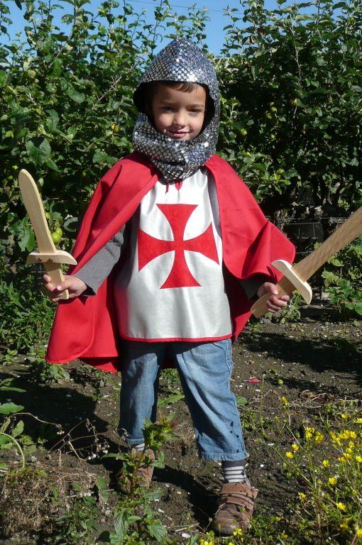 deguisement chevalier pinterest