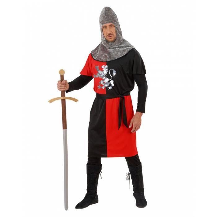 deguisement chevalier rouge