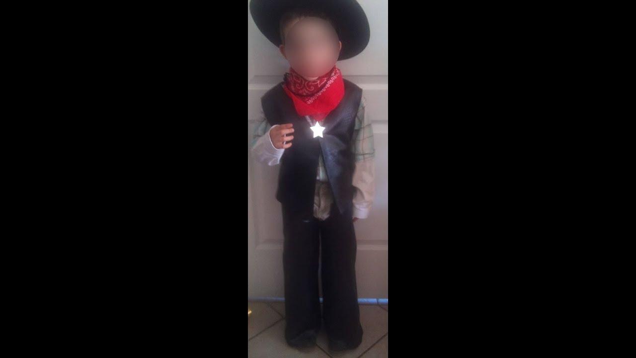 deguisement cowboy a faire soi meme