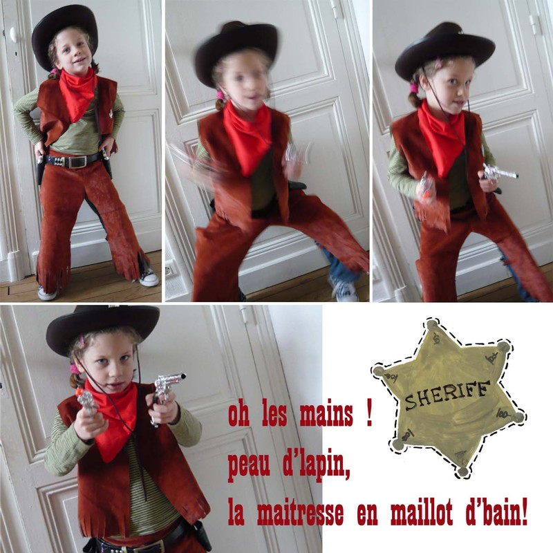 deguisement cowboy fait maison