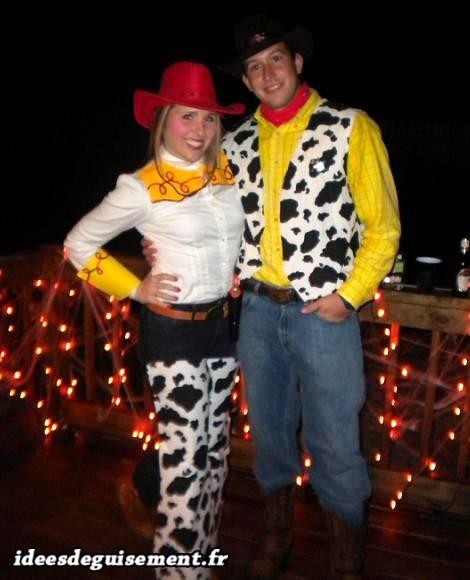 deguisement cowboy femme fait maison
