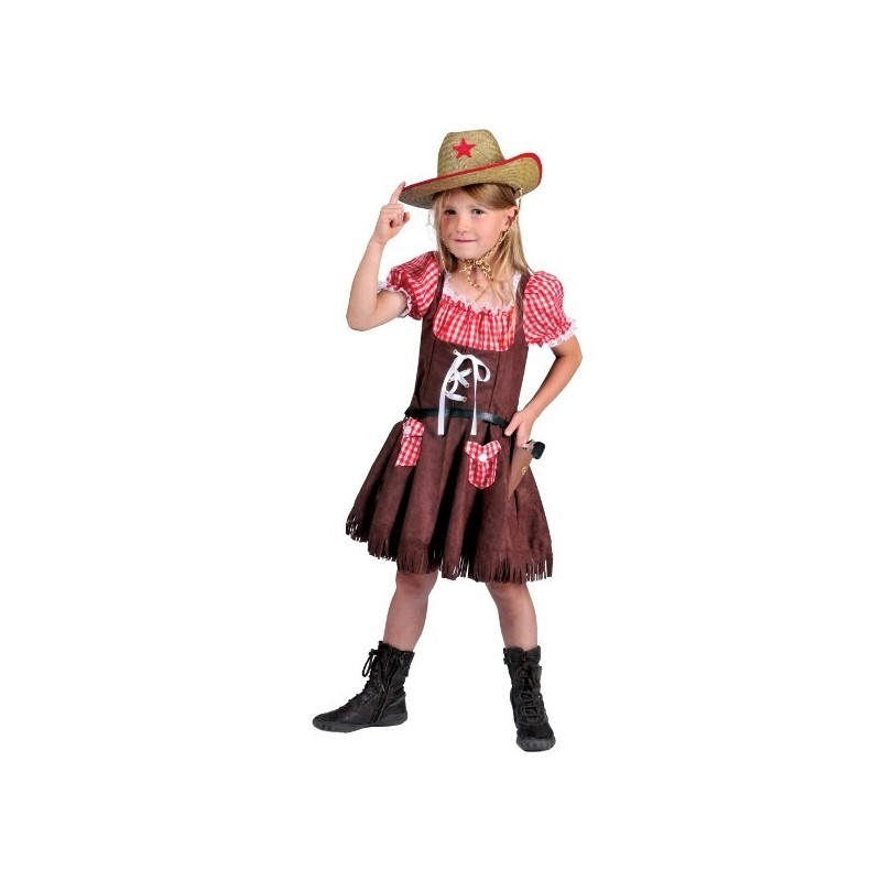 deguisement cowboy fille 10 ans