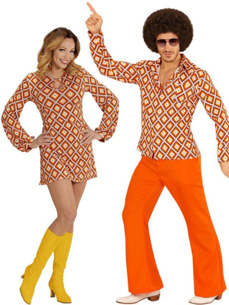 deguisement disco couple
