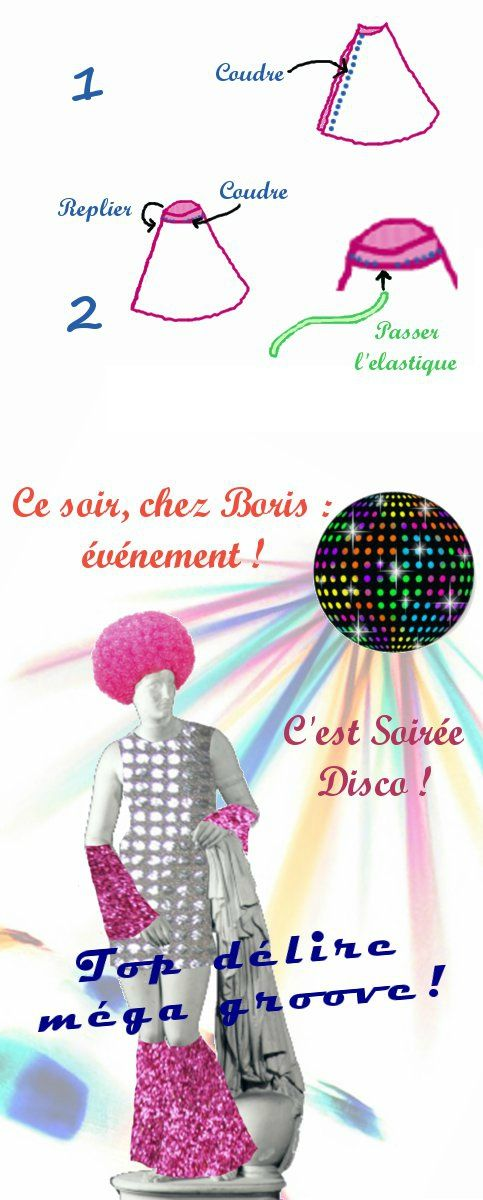 deguisement disco diy