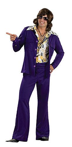 deguisement disco homme taille s