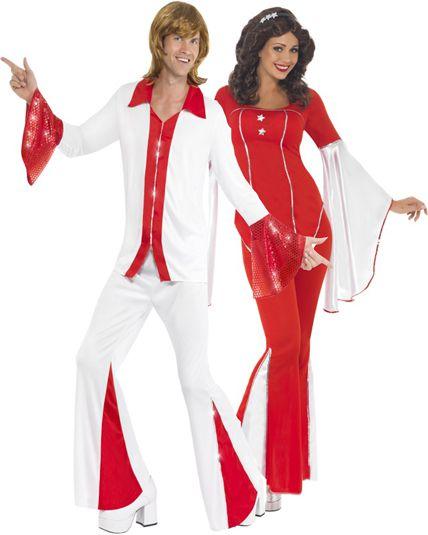 deguisement disco pour couple