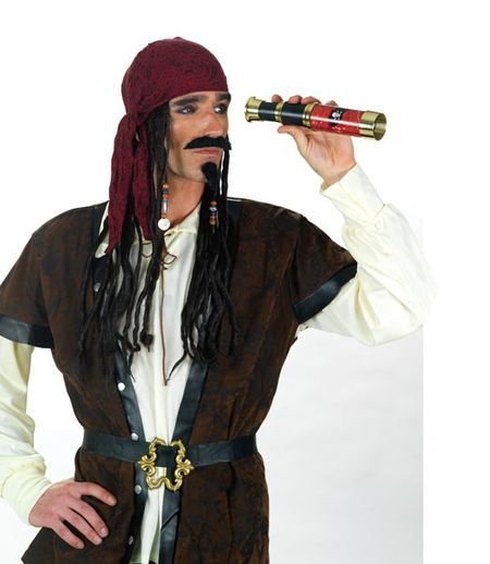 deguisement pirate avec longue vue