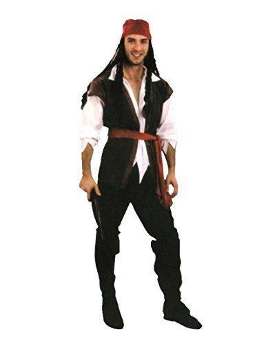 deguisement pirate barbe noire