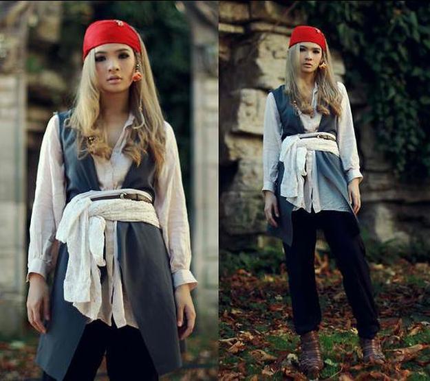 Deguisement Pirate Diy Tous Les Deguisements