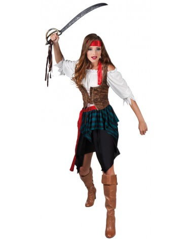 deguisement pirate femme facile a faire