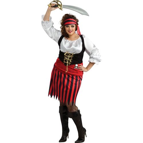 deguisement pirate femme grande taille pas cher