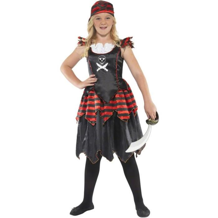 deguisement pirate fille 10 ans