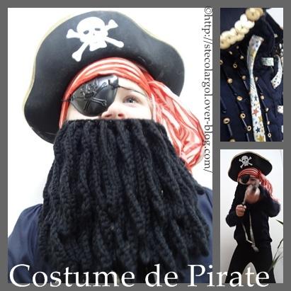 deguisement pirate garcon diy
