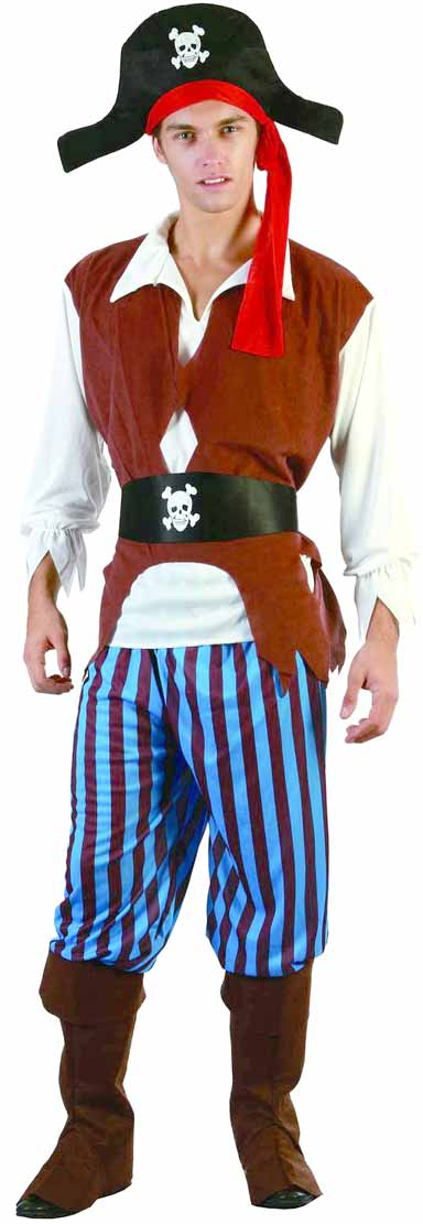 deguisement pirate homme grande taille