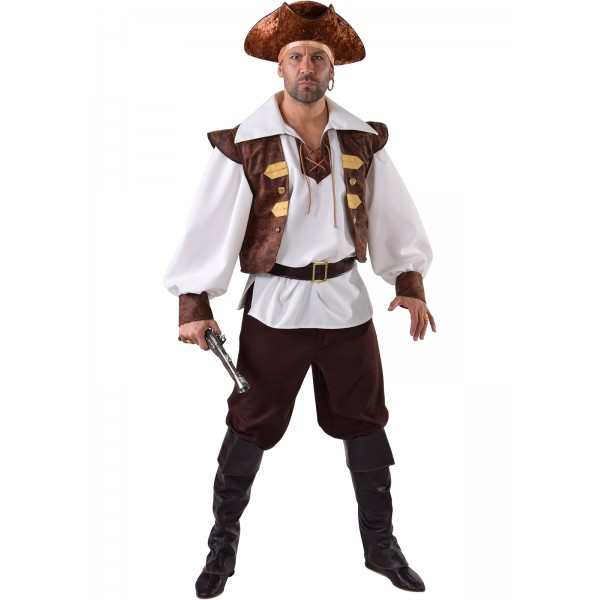 deguisement pirate homme simple