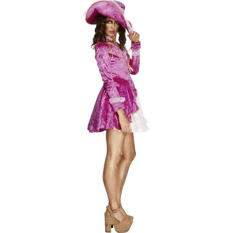 deguisement pirate rose