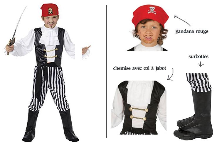 deguisement pirate simple