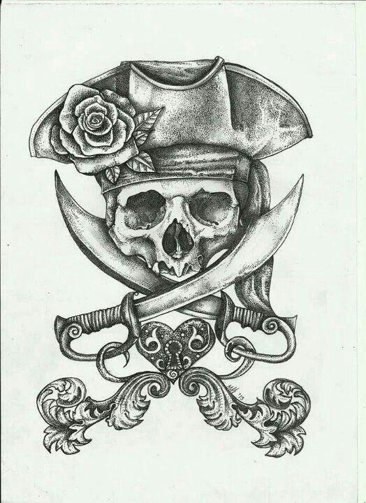 deguisement pirate tattoo