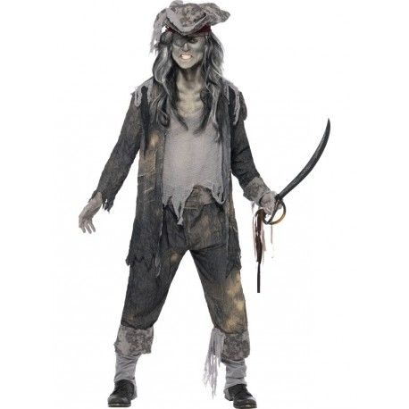 deguisement pirate zombie