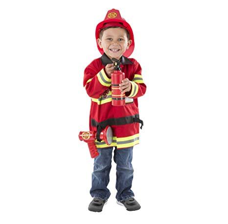 deguisement pompier 2 3 ans
