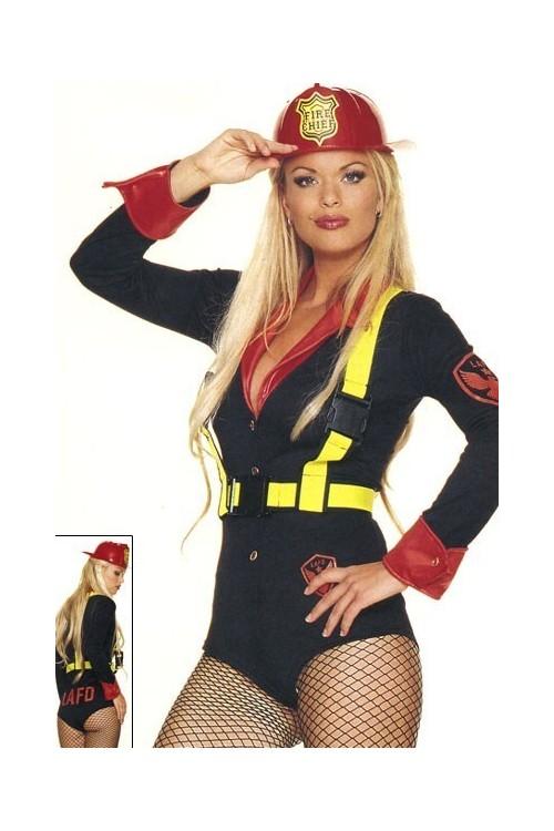 deguisement pompier femme