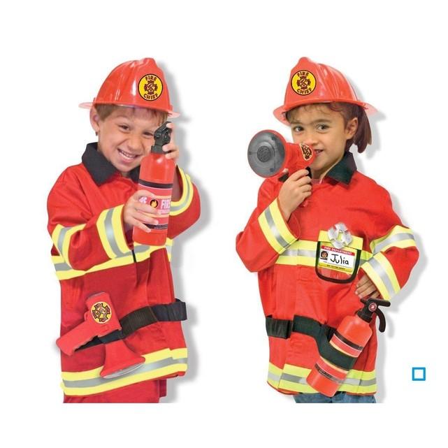 deguisement pompier melissa et doug