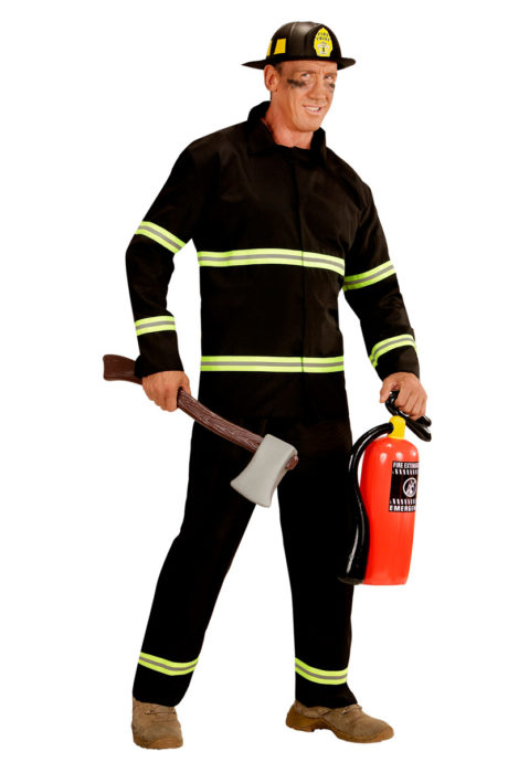 deguisement pompier paris