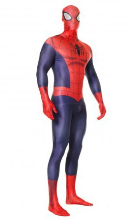 deguisement spiderman adulte latex