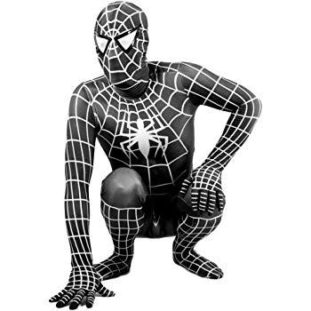 deguisement spiderman adulte noir