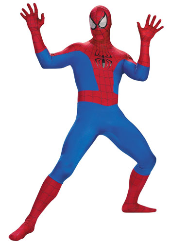 deguisement spiderman adulte realiste
