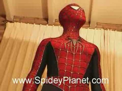 deguisement spiderman adulte realiste