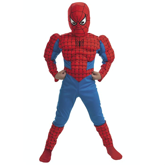 deguisement spiderman avec muscle