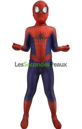 deguisement spiderman bleu