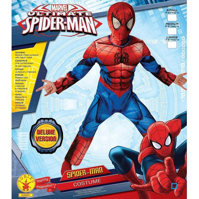 deguisement spiderman broze