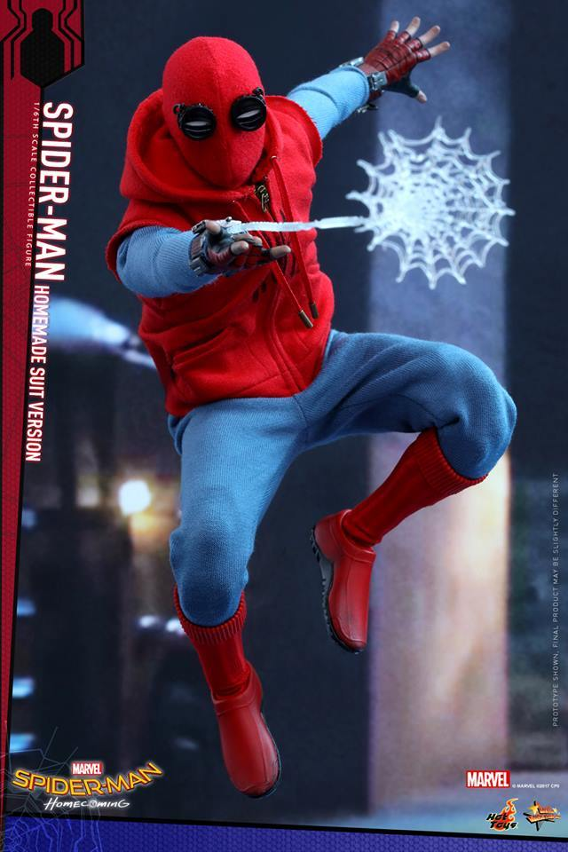 deguisement spiderman fait maison