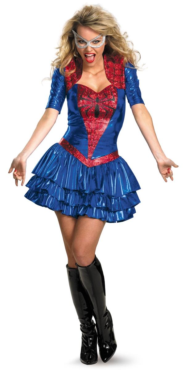 deguisement spiderman femme