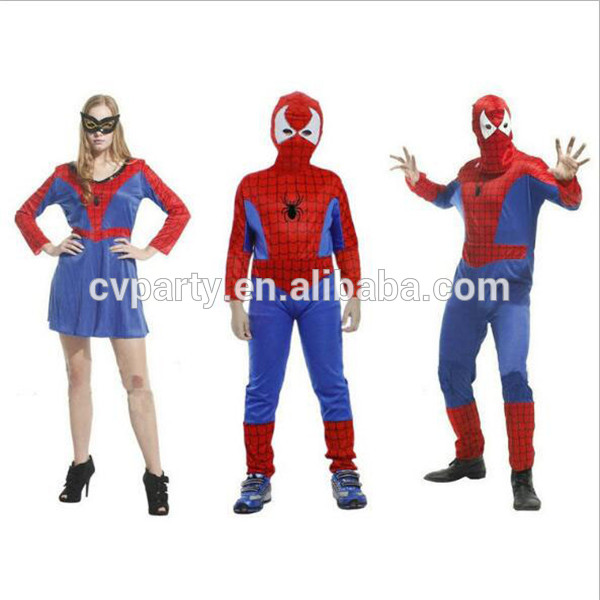deguisement spiderman latex