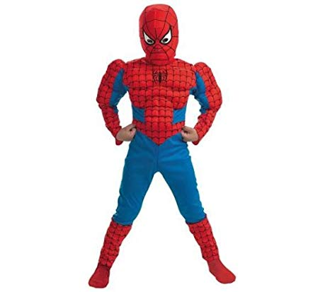 deguisement spiderman muscle 3 ans