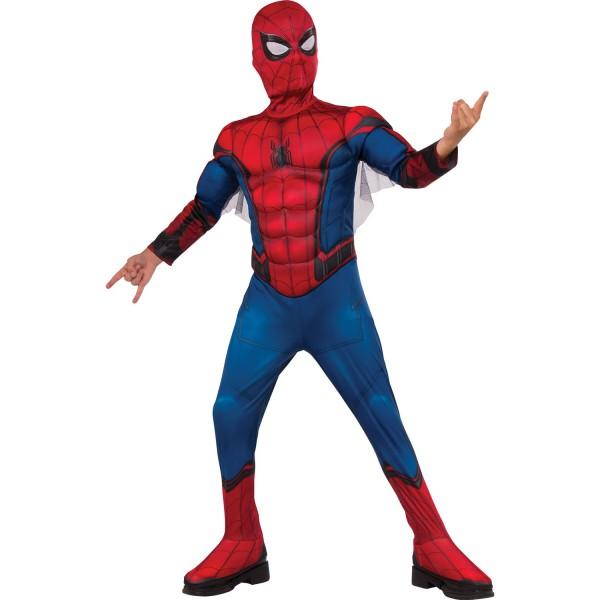 deguisement spiderman noir 4 ans