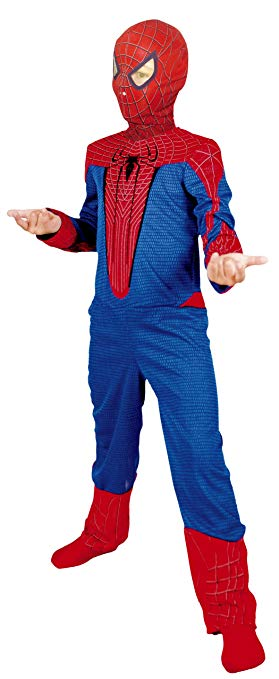 deguisement spiderman noir 5 7 ans