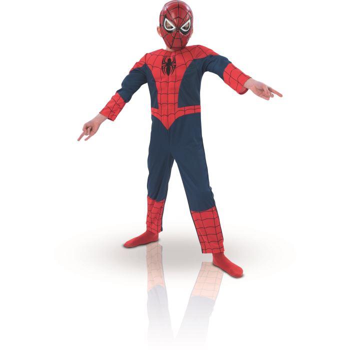 deguisement spiderman noir 8 ans